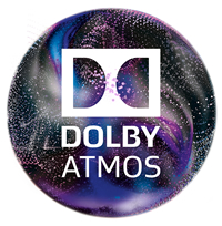 dolby atmos cinemaaccented logo