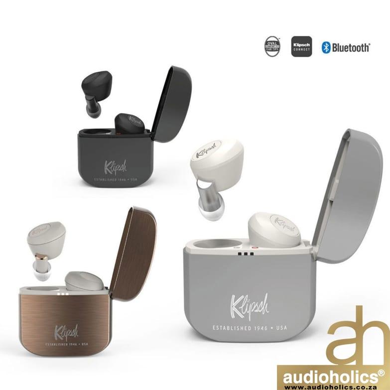 Klipsch T5 True Wireless Active Noise Canceling Smart Earphones