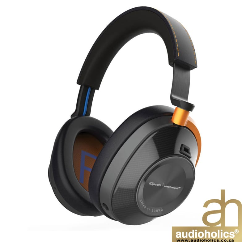 Klipsch X Mclaren Over-Ear Active Noise Canceling Headphones