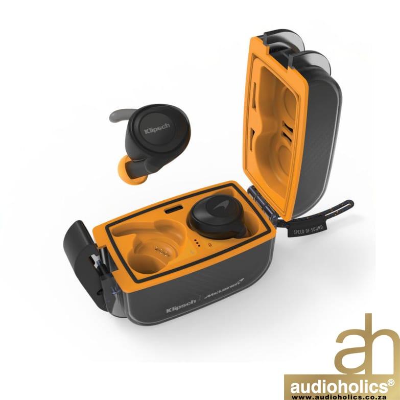Klipsch X Mclaren T5 Sport True Wireless Earphones