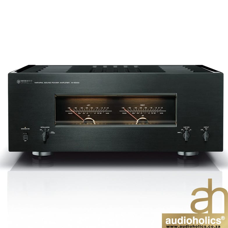 Yamaha M 5000 Stereo Power Amplifier 2x100w